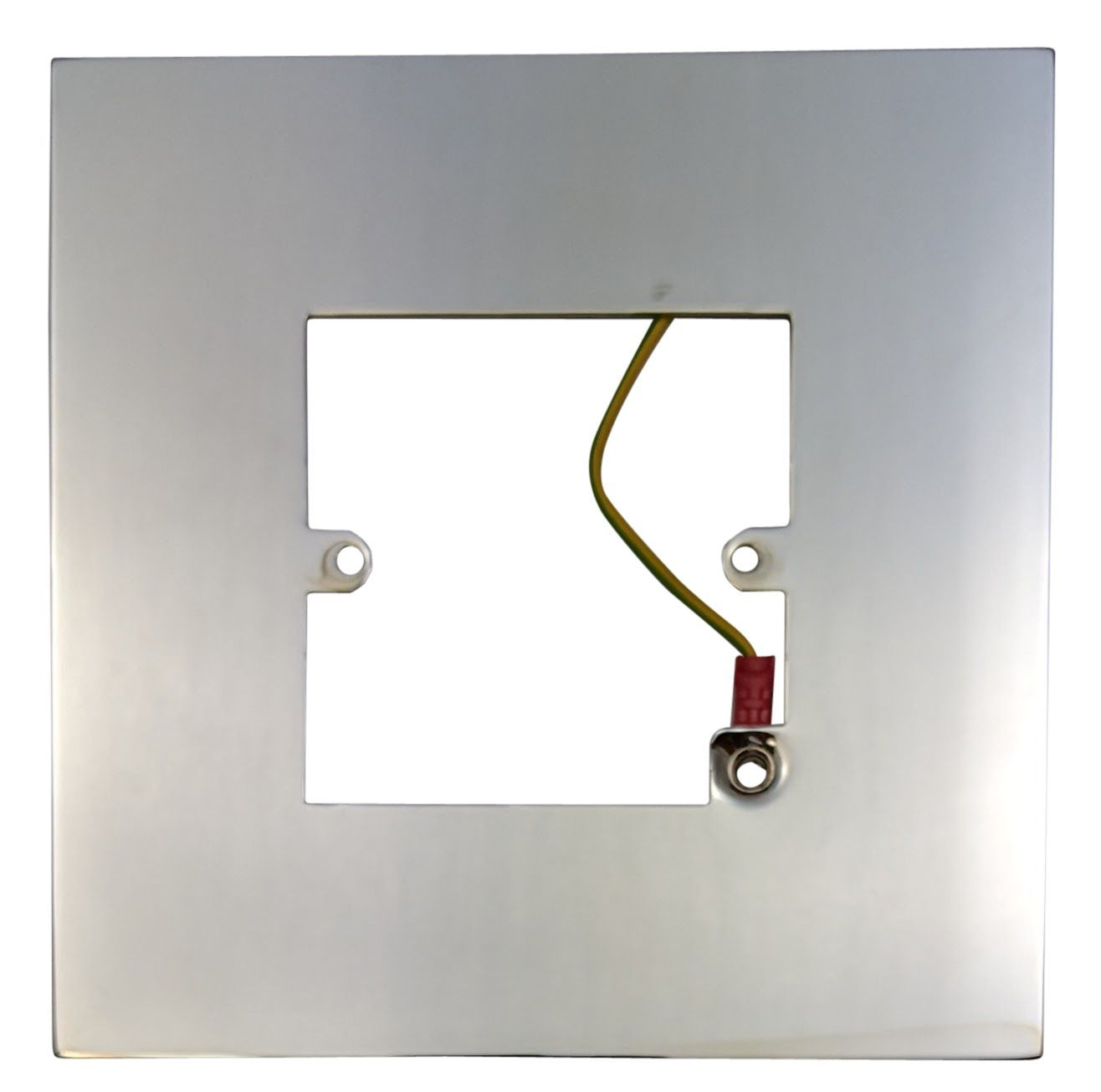 Chrome Light Switch Surround: G&H 809C Polished Chrome Finger Plate Surround 152mm x 152mm for Single  Plate,Lighting