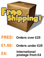 Free Delivery over £25