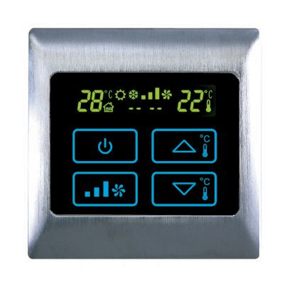 AC HVAC Thermostat Touch Control Panels