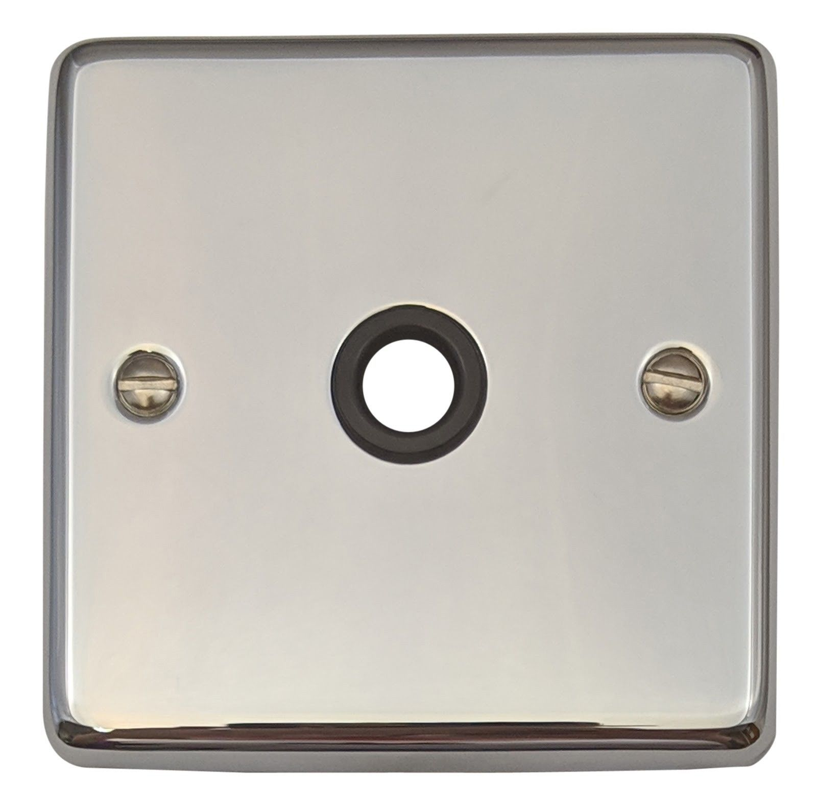 G&H CC79B Standard Plate Polished Chrome 1 Gang Flex Outlet Plate