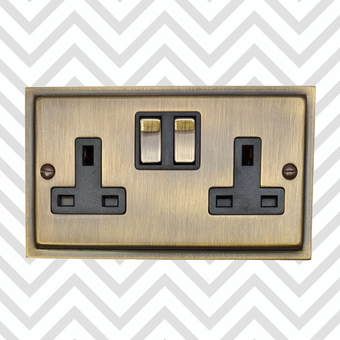 Antique Bronze Switches & Sockets